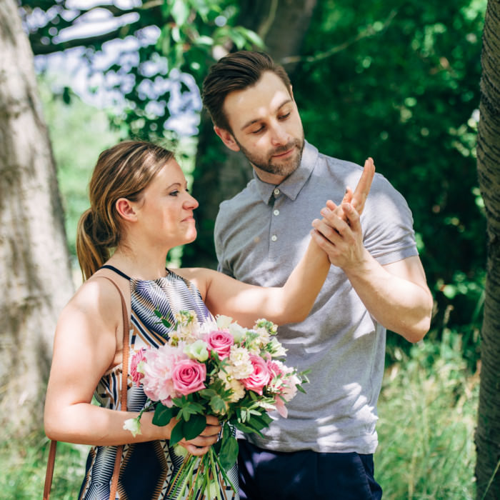 Engagement session at the Woburn Abbey Gardens - Sarah & Andrew
