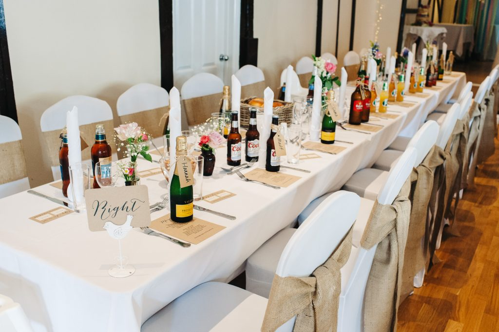 Bellows Mill Wedding Tables
