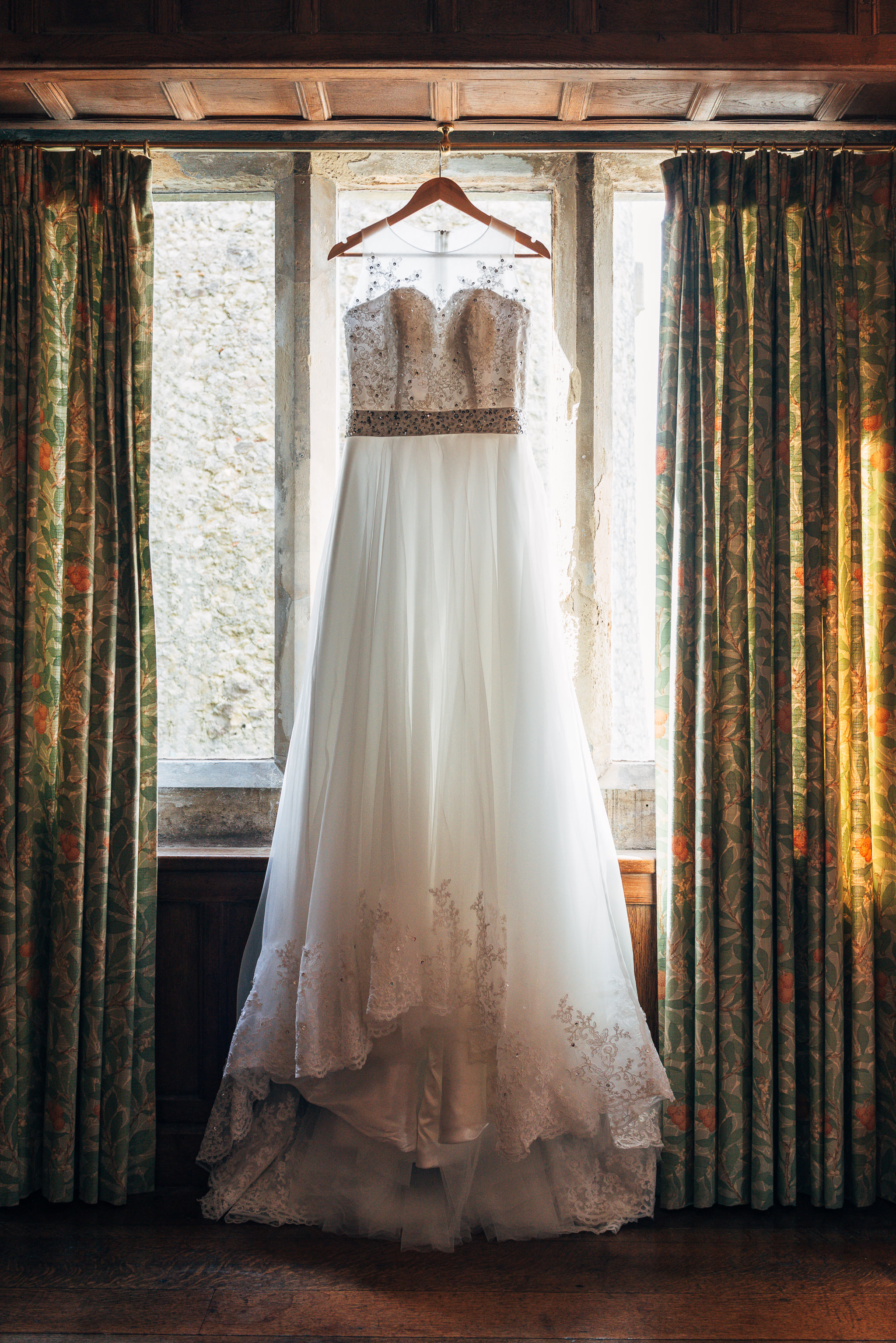 Lympne Castle Wedding Dress